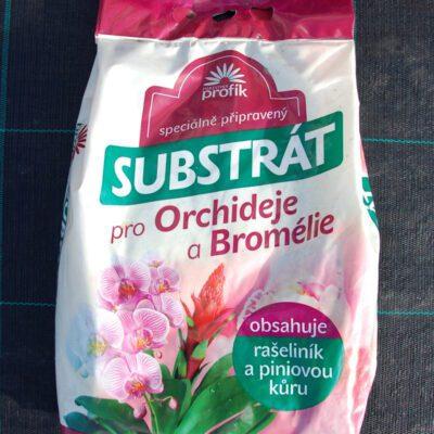 Substrát pro orchideje a bromélie