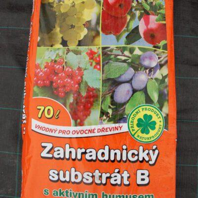 Zahradnický substrát s aktivním humusem 70l