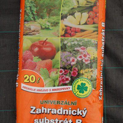 Zahradnický substrát B univerzální 20l