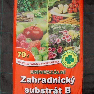 Zahradnický substrát B univerzální 70l