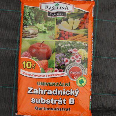Zahradnický substrát B univerzální 10l